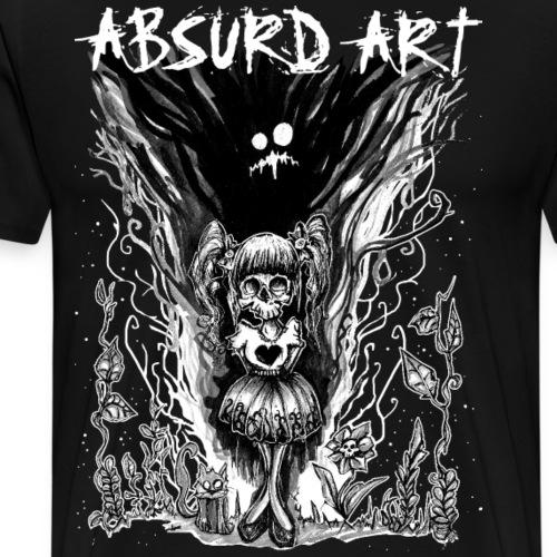 Symbiose von Absurd ART - Männer Premium T-Shirt