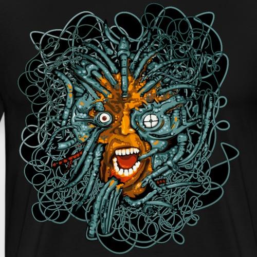 Matrix Cyber Punk - T-shirt Premium Homme
