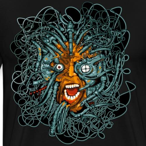 Cyber Punk - T-shirt Premium Homme