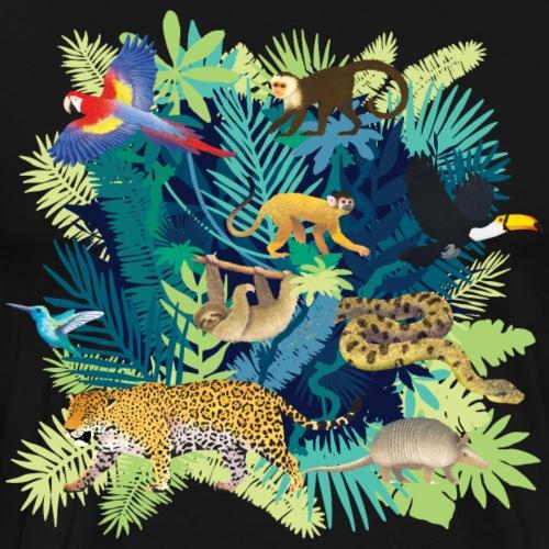 South America Jungle Dark - T-shirt Premium Homme