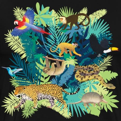 South America Jungle Light - T-shirt Premium Homme
