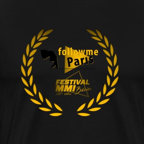 Followme Paris lauréat Festival MMI Béziers - T-shirt Premium Homme