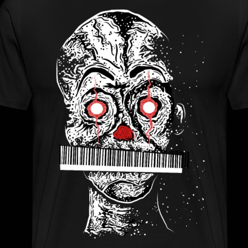 The Barcode Man - Männer Premium T-Shirt