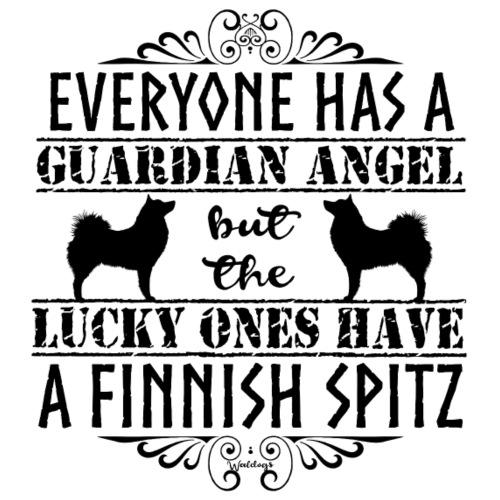 finnishspitzangel2 - Miesten premium t-paita