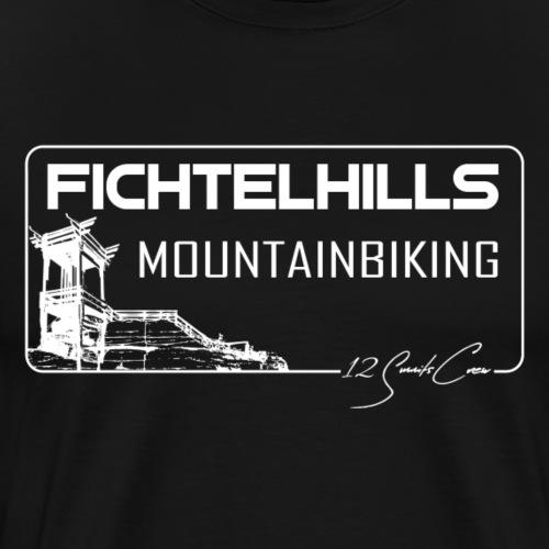 Backoefele Schneeberg fichtelgebirge fichtelhills - Männer Premium T-Shirt