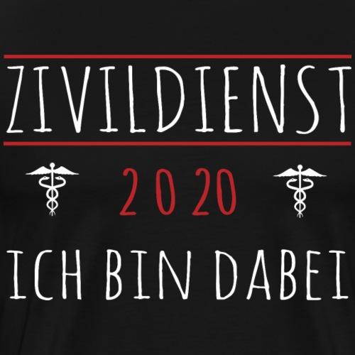 Zivildienst Zivildiener 2020 Shirt Geschenk - Männer Premium T-Shirt