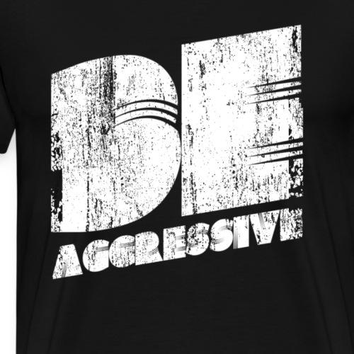 'BE AGGRESSIVE' Fitness, Workout, Gym - Männer Premium T-Shirt