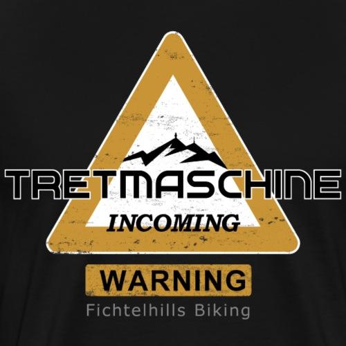 Tretmaschine Fichtelgebirge - Männer Premium T-Shirt