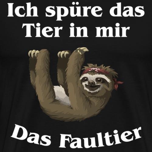 Faultier 1 - Männer Premium T-Shirt
