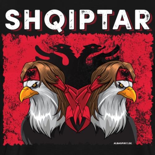 40055_Albania_03_white - Männer Premium T-Shirt
