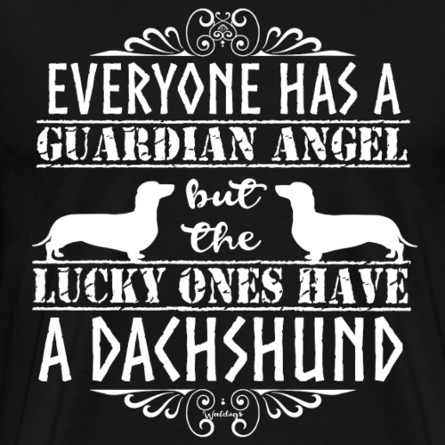 Dachshund SH Angels4 - Men's Premium T-Shirt