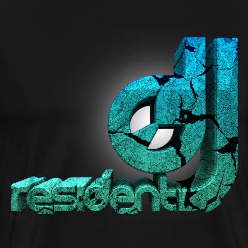 DJ RESIDENT by Florian VIRIOT - T-shirt Premium Homme