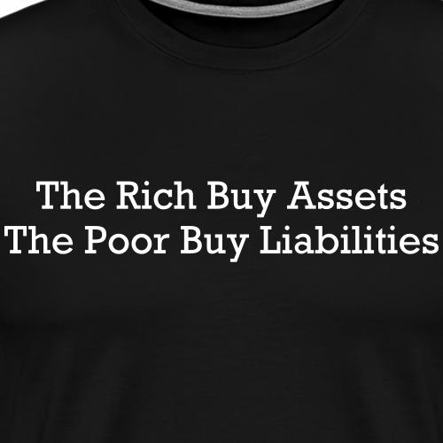 Rich and poor - Men's Premium T-Shirt