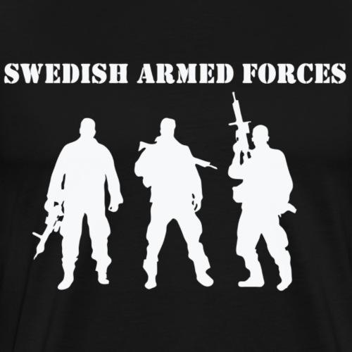 SAF SWE WHITE - Premium-T-shirt herr