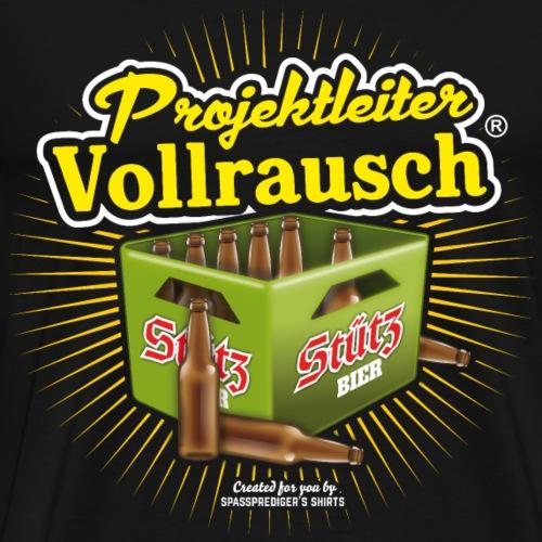 Projektleiter Vollrausch® T Shirt - Männer Premium T-Shirt