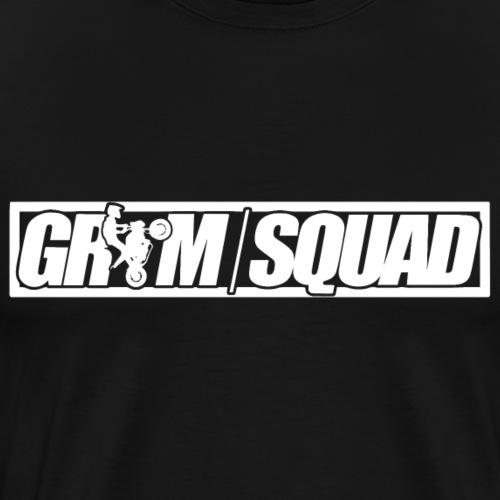 groms quad logo inverted - Men's Premium T-Shirt