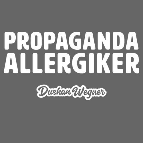 Propaganda Allergiker - Männer Premium T-Shirt