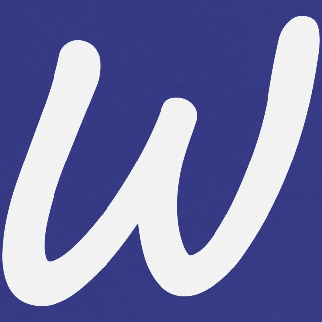 Walkeny's W in weiß