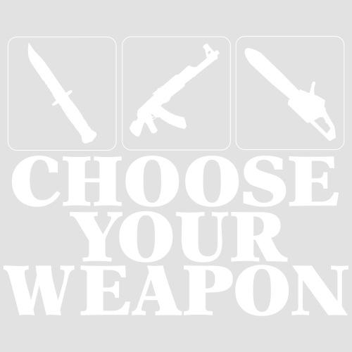 Choose your Weapon EGOsh2 - Männer Premium T-Shirt