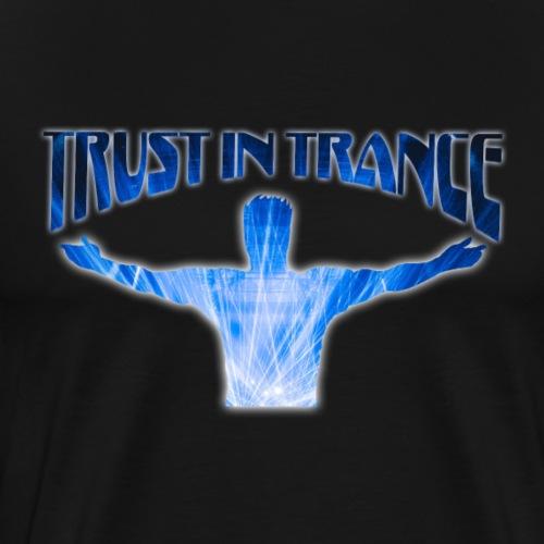 trust_in_trance - Premium-T-shirt herr