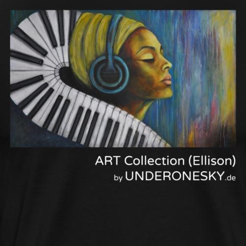 UNDER ONE SKY ART Collection (Ellison) Partitur - Männer Premium T-Shirt
