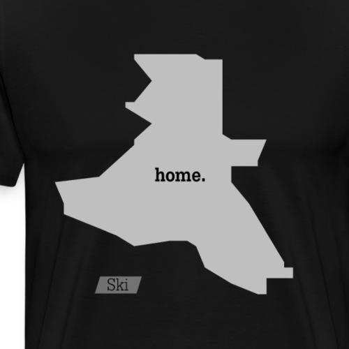 Hjemby Ski - Premium T-skjorte for menn