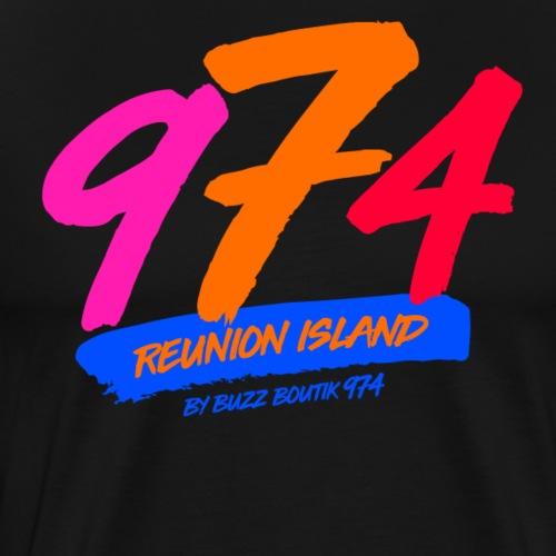 Collection 974 REUNION ISLAND - T-shirt Premium Homme