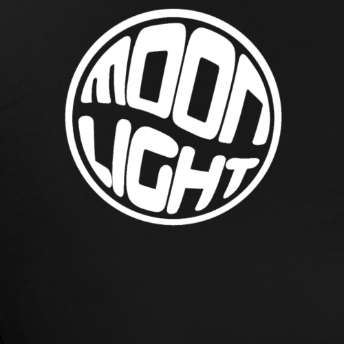 Moon Light - Blanc - T-shirt Premium Homme