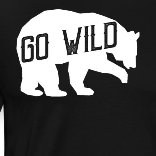 Go Wild - Männer Premium T-Shirt