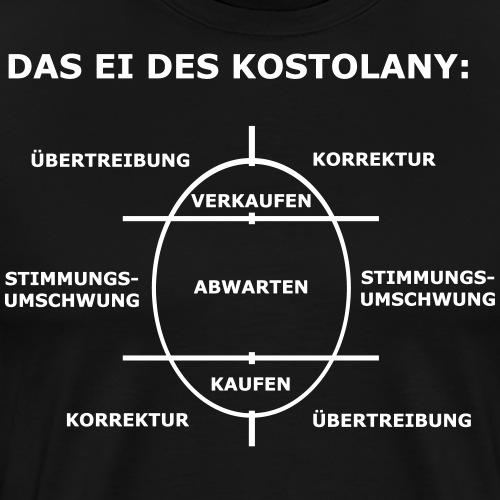 Das Ei des Kostolany - Männer Premium T-Shirt