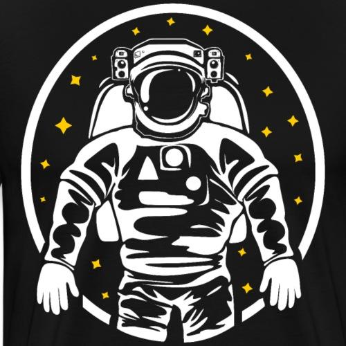Willkommen im Weltall - Männer Premium T-Shirt