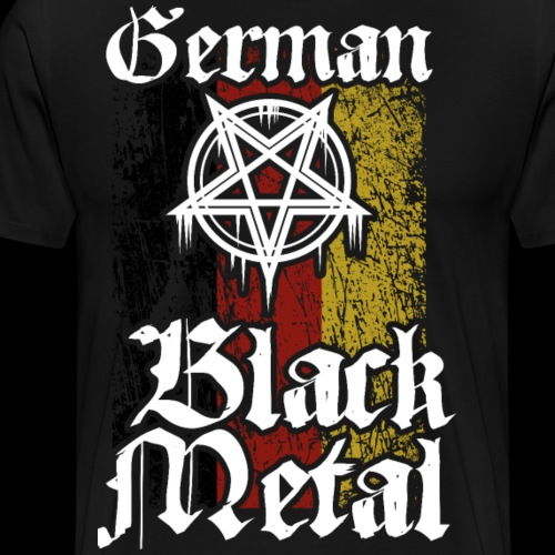 German Black Metal - Men's Premium T-Shirt