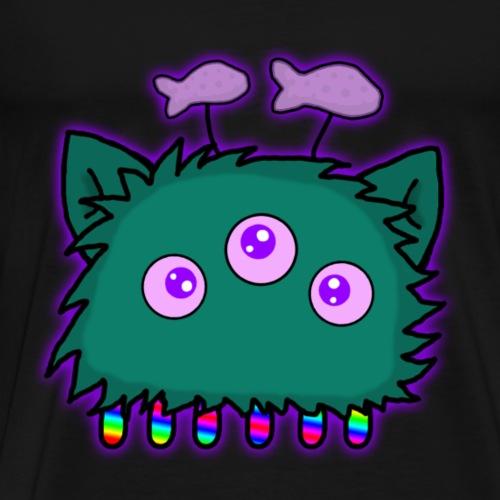 Cat-alien 2 - Men's Premium T-Shirt