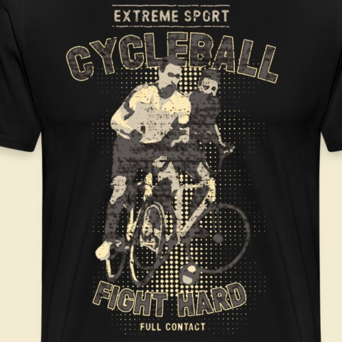 Radball | Fight Hard - Männer Premium T-Shirt