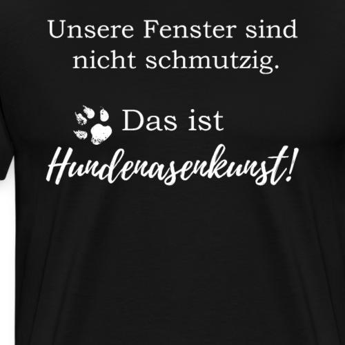 Lustiges Hundebesitzer T Shirt - Männer Premium T-Shirt