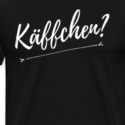 Käffchen T Shirt Kaffee und Ironie - Männer Premium T-Shirt