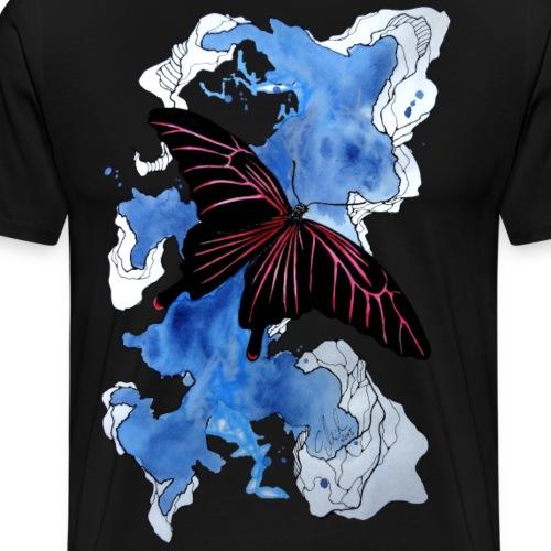Butterfly II 2014 by carographic, Carolyn Mielke - Männer Premium T-Shirt