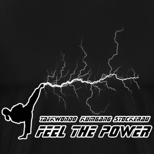 Taekwondo Kumgang Stockerau - Lightning - Männer Premium T-Shirt