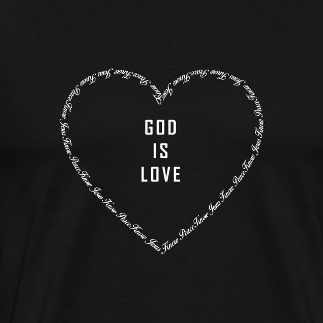 Gott ist Liebe I Chrsitliche Geschenke I Herz