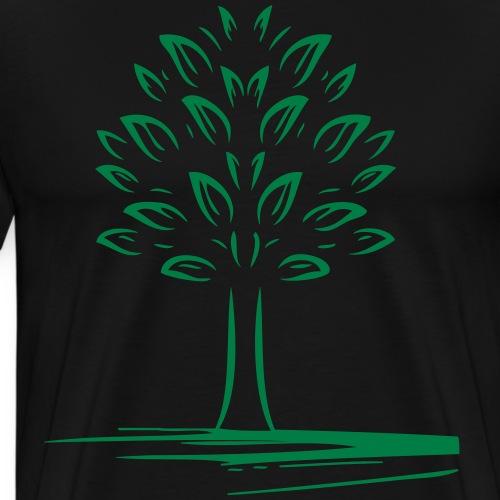 arbre t-shirt 1 - T-shirt Premium Homme