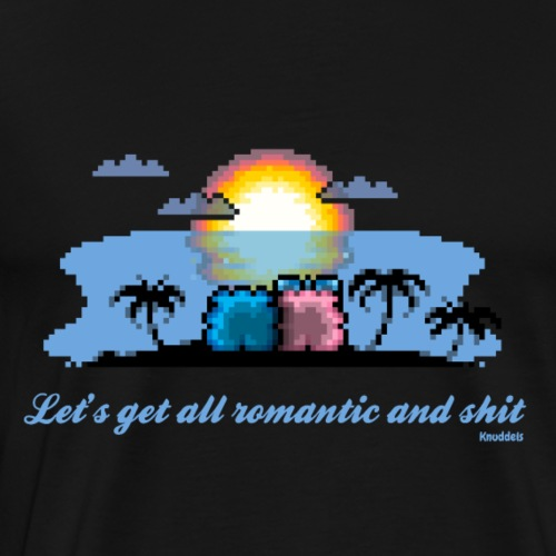 Beach Romantic - Männer Premium T-Shirt