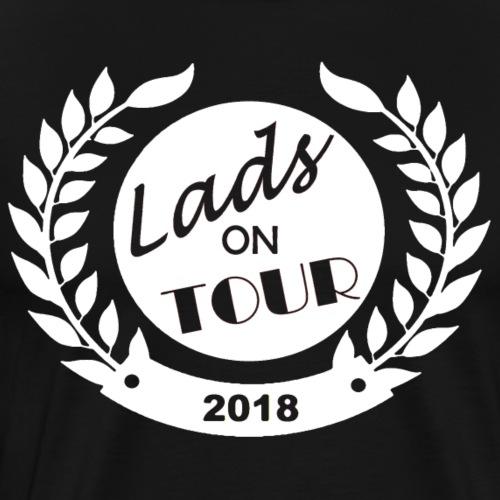 Lads On Tour - 2018 - White - Men's Premium T-Shirt