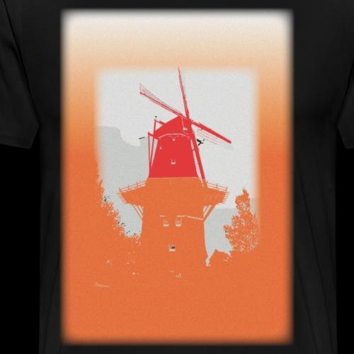 Mills orange - Men's Premium T-Shirt