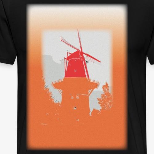 Mills orange - Maglietta Premium da uomo
