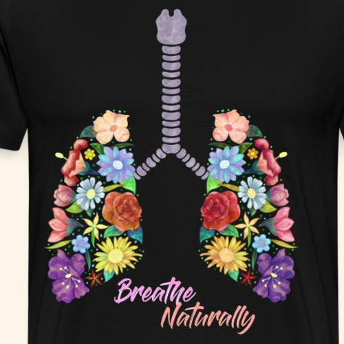 Pulmones de vida - Camiseta premium hombre