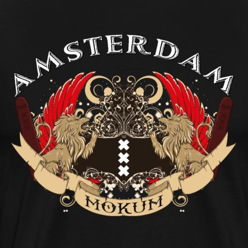 Amsterdams wapen vintage - Mannen Premium T-shirt
