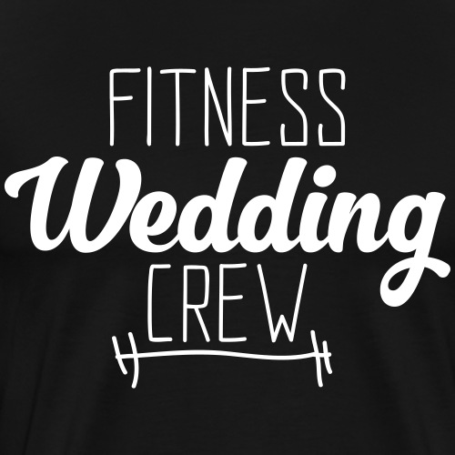 JGA Junggesellenabschied Braut Bräutigam Fitness - Männer Premium T-Shirt