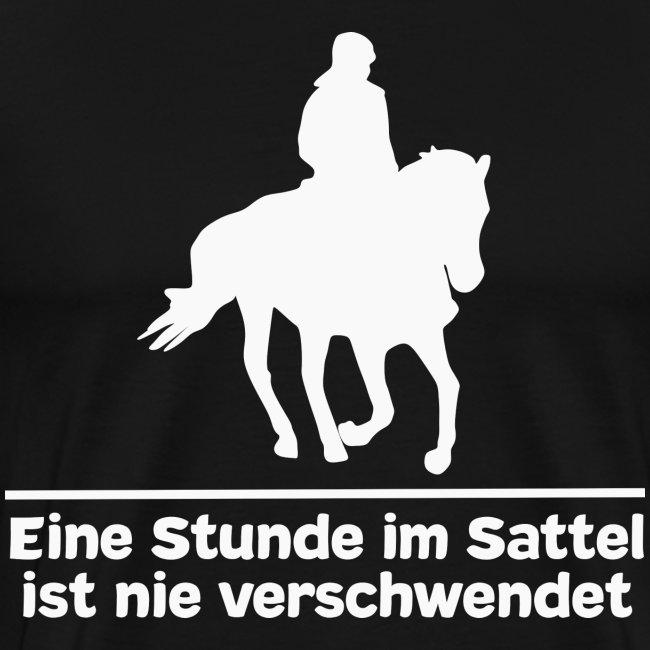 Reiten Pferde Pferdesprüche T Shirt Pferdemädchen Männer Premium T Shirt