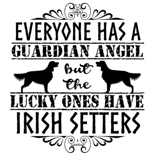 irishsetterangels2 - Miesten premium t-paita