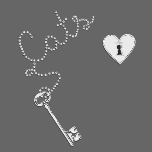 Key Cats Grey - Miesten premium t-paita